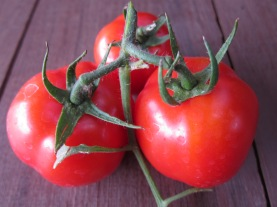 The risk with homegrown tomatoes is that you will never want a supermarket tomato again