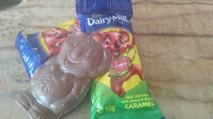 Caramello Koalas. Silky smooth with a sweetness not suitable for the faint hearted. The gooey caramel center will ensure your reach your carbohydrate capacity before finishing the entire bag.